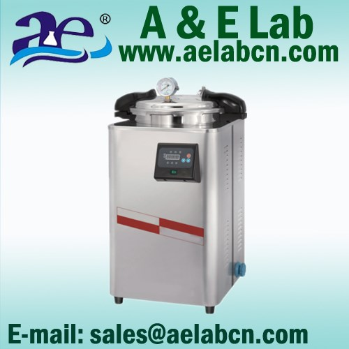 LED Digital Control System Portable Pressure Steam Sterilizer
