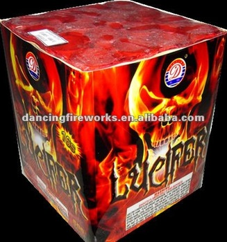16 Shots Square-Shape multi-shot Cake Fireworks