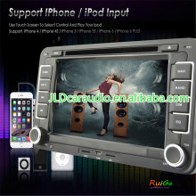 2 din VW PASSAT V6 wince8.0 car DVD with Radio,GPS,Ipod,Bluetooth,SWC,PIP,3D UI
