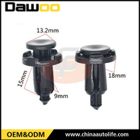 Nylon car fastener auto metal clips