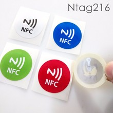 Customized Waterproof PET RFID NFC Tag/Label/Sticker With 3M Glue