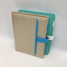 6 ring binder organizer planner with logo embossing