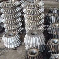 carbon steel cast conical gear OEM