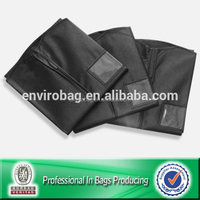 Lead Free Suit Cover Zipper Non Woven Garment Bag