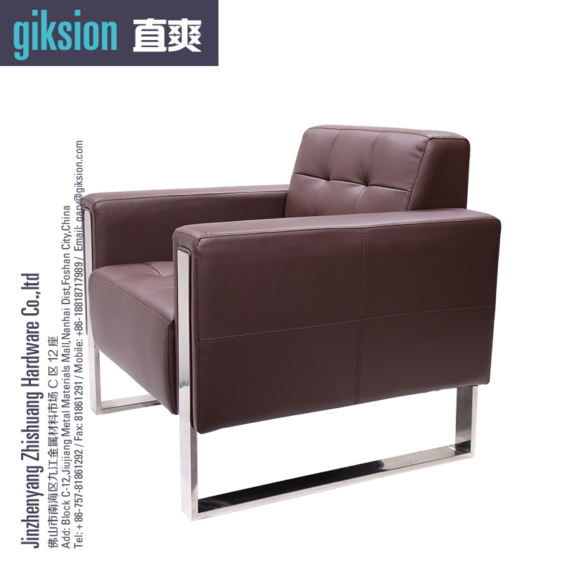 (ZS897#) Modern leisure leather sofa pictures of sofa designs