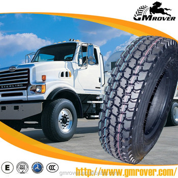 GM ROVER brand popular patterns for Latin America market heavy duty truck tyre 11R22.5