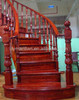new design Red oak handrail manufactory supply roman pillars with competitive prices
