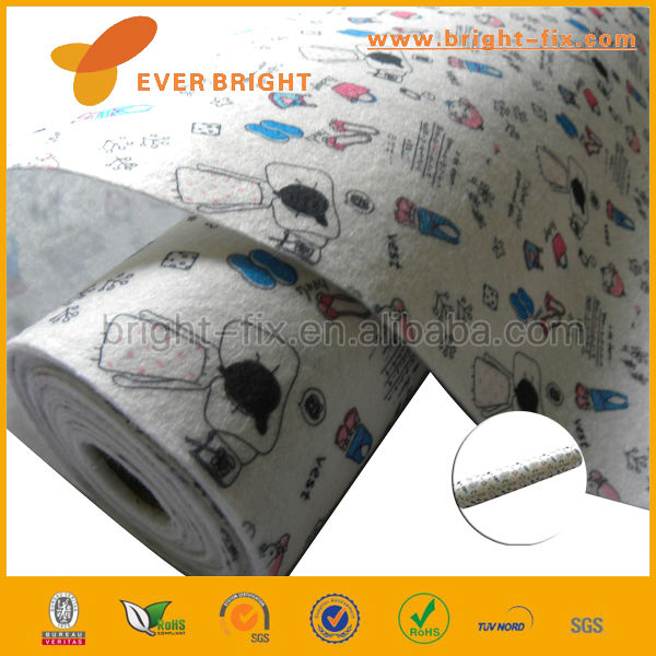 Good Quality Best Price Articles of Daily Used Pattern Printing Nonwoven Polyester Felt for DIY Craft