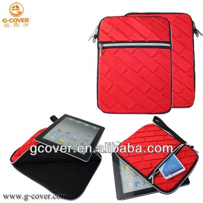 New arrival Style Soft Bag for iPad3/4/air tablet bag
