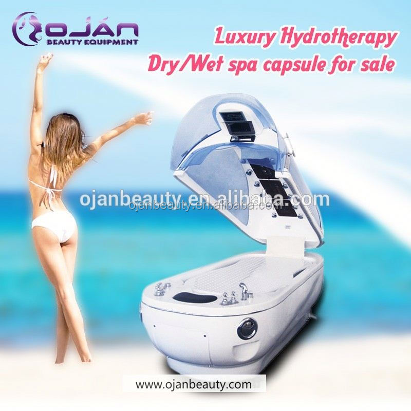 Wet & dry water massage bed / 2016 popular in Europen Spa capsule hydro massage