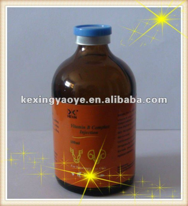 b complex vitamin injectable for veterinary medicine china