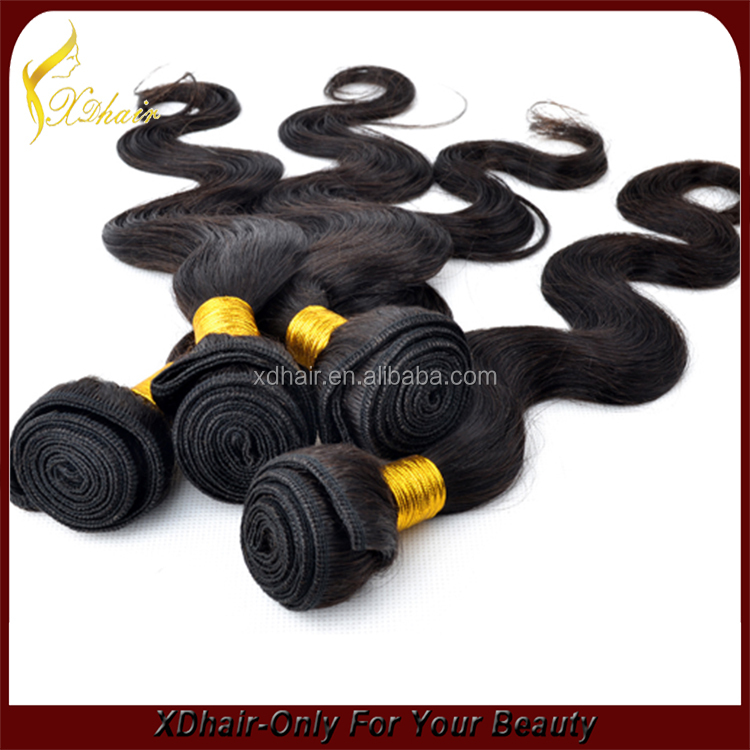 5A top quality wholesale hair! Indian human hair extension, 100% virgin Indian hair,hair weavon