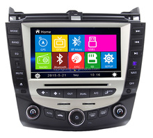 Car DVD Player GPS Navigation for HONDA Accord 2003 2004 2005 2006 2007 Single or Dual zone Climate Control Radio
