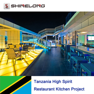 Tanzania High Spirit Restaurant Kitchen Project by Shinelong