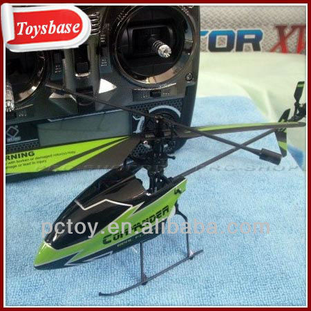Single blade 4 channel remote control helicopter, V911-1