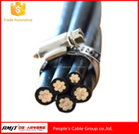 Myanmar Aluminum stranded XLPE compound inuslated overhead cables