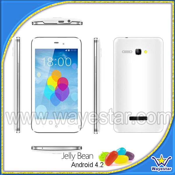 Cheapest MTK6572 Dual Core 4 3 inch android phone