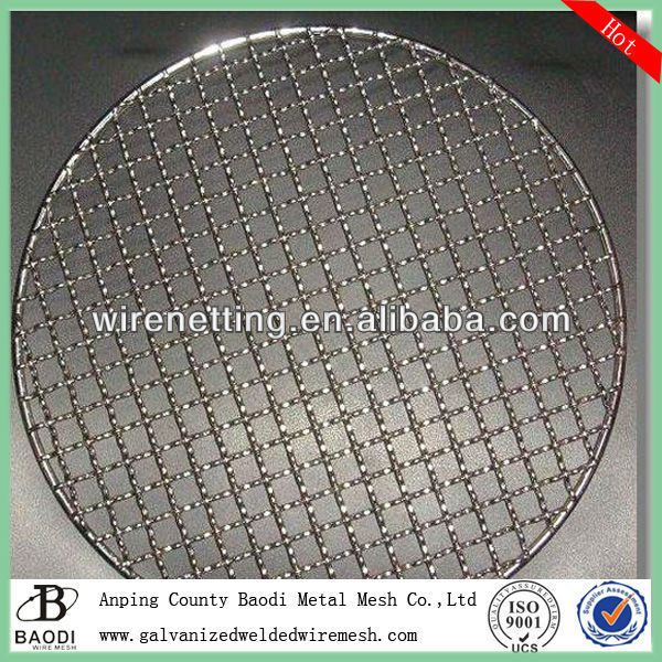 round 304 ss barbecue mesh