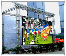 LED full color outdoor display p6.25 IP65 stage background led display big screen