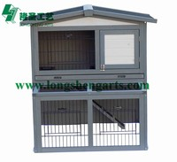 Bunny house wooden Rabbit hutch