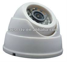 Cheap Sony CCD IR Color Plastic Dome CCTV Surveillance Camera For Home