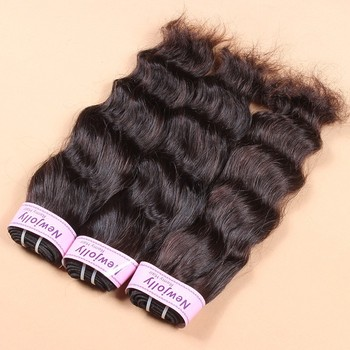 Free Sample available 12 14 16 18 inch 4 bundles best quality human hair weave