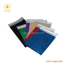 Heat seal aluminum foil mailers shiny mailing bag metallic foil envelopes