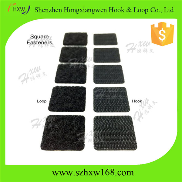 "3/4"" Hook/Loop adhsesive Square/dots Fasteners"