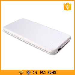Full Capacity ABS Slim Brand Mobile Power Bank 5000 mAh
