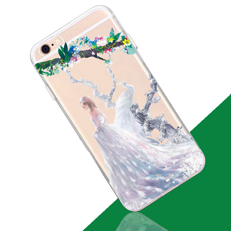 2016 painted soft tpu sushi phone case for huawei honor 5c / 5X / 8 back cover
