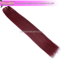 2018 cheap Indian human hair extension iron ombre clip in extensions