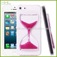 Wholesale Hourglass sand PC mobile phone case cover for iphone 4/4s
