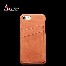 Manufacturing Factory Price Genuine Leather Back Cover Mobile Phone Accessories Case for iphone 6