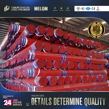 high quality pe coated or black or galvanized fire fighting pipes