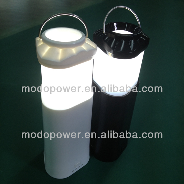 2014 new version LED Camping Lantern rechargeable with 7800mAh Power Bank Function