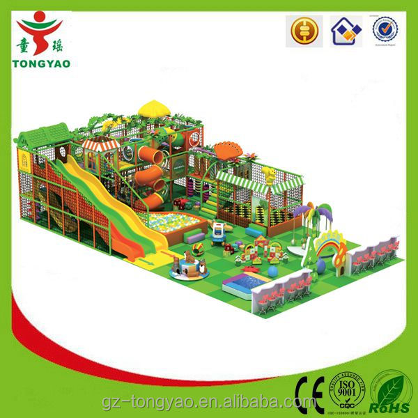 Indoor Playground Type and Plastic,PVC Material Soft Padded Kids Commercial Indoor Playground