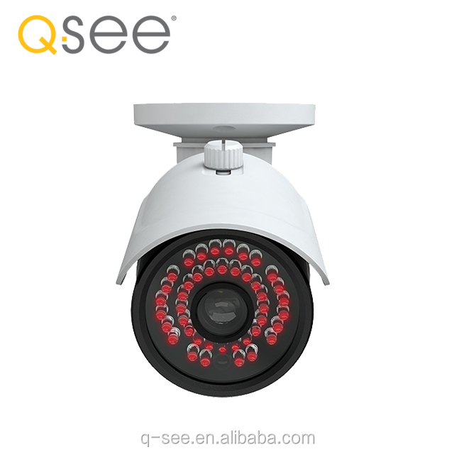 Q-SEE brand 4K IR Bullet CCTV Camera 8MP p2p ip camera with 5mm fixed lens screw hidden camera