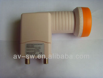 single/twin/quad universal ku band LNB 0.1dB