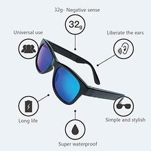 Sunglasses Sun Glasses Full Bone Conduction Bluetooth Headset Headphone For CellPhone Mobile Phone