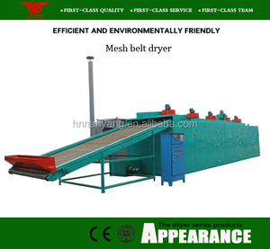 Hot air circulation multi-conveyor mesh belt coconut meat drying machine