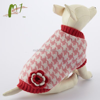 China factory made fashion custom knitted pet clothing for dogs