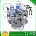 Piston Electric double bucket Portable Milking Machine 2017 double
