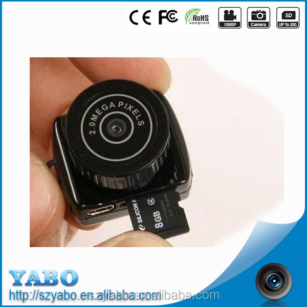 Cheap good gifts Mini DV Smallest Camcorder y2000 protable very small camera