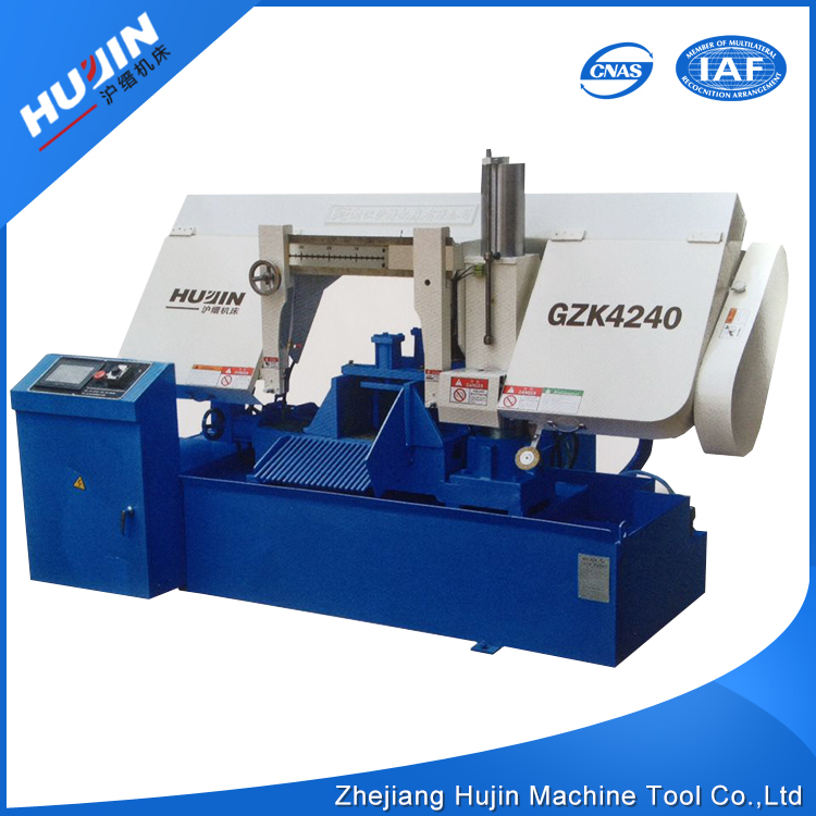 ISO CE High Precision 380V General Semi Automatic Hack Band Sawing Processing Machinery