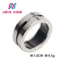 Hot sale wholesale fashion stainless steel Islamic rings