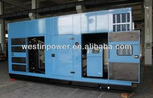 Industrial use imported cummins engine 1000kva diesel generator used with ISO