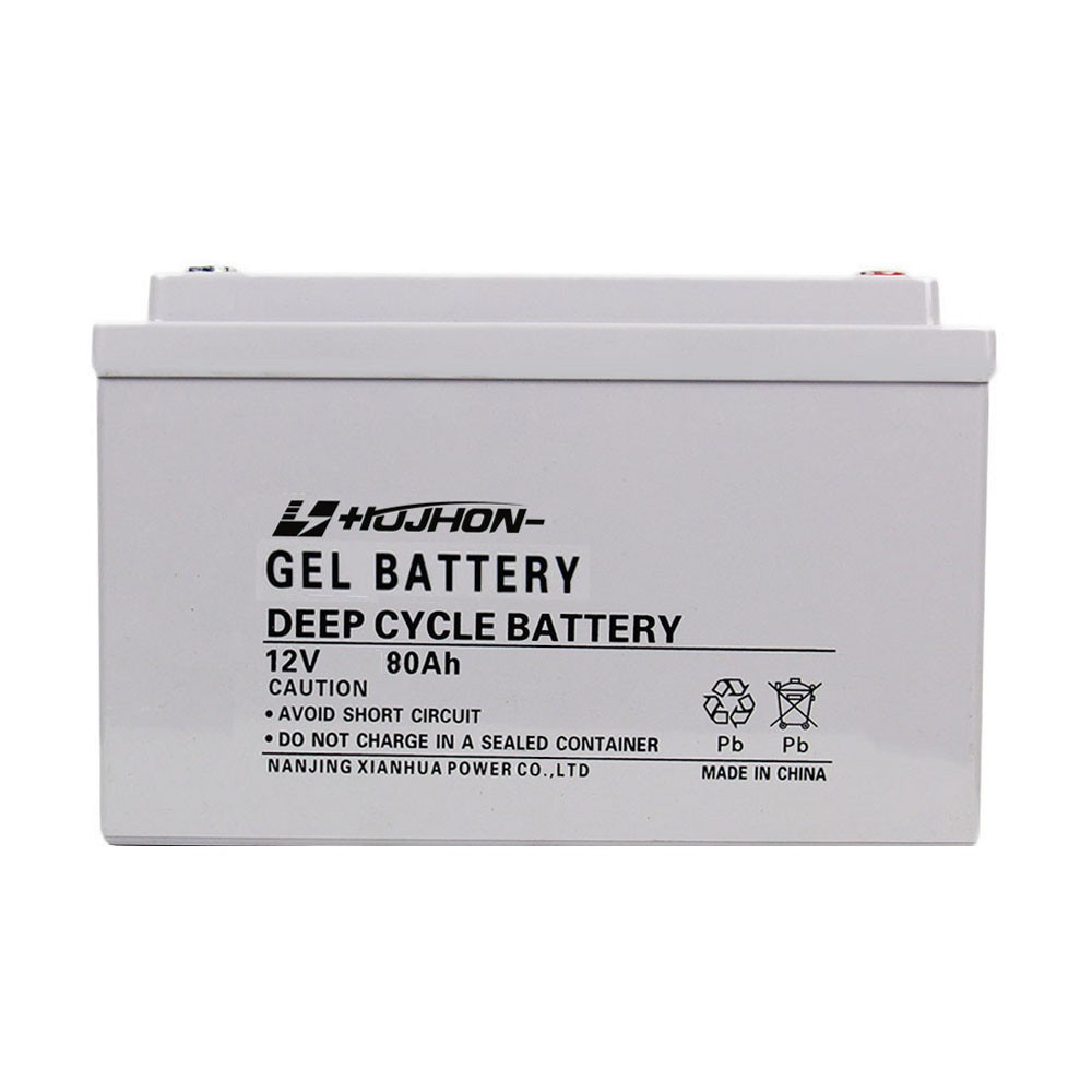 Better safety performance solar panel battery 12v 80ah gel with free shipping