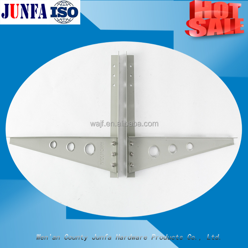 Split type air conditioner wall mount bracket for air compressor