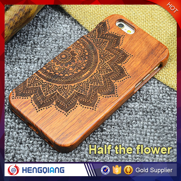 Natural Real Wood Hybrid Hard Back Mobile Phone Cover Case For iphone 4s 4