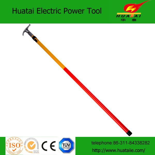 5sections10M High Voltage Telescopic Hot Stick